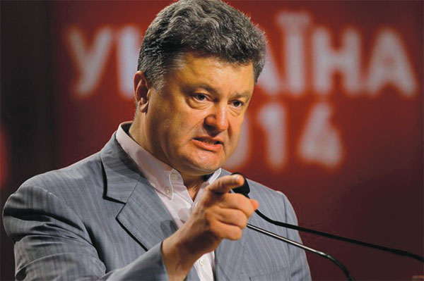 Petro Poroshenko, new President of Ukraine, is Jewish. The Jews, with U.S. support and manipulation, now control Ukraine and are busy murdering Ukranians and setting up concentration camps. Israel plans to make Ukraine a second Jewish homeland. Currently, a meager 0.2 percent of Ukraine is made up of Jews, but the Jewish minority took over the USSR and massacred 66 million people ~ along with theirir inglorious allied war criminals who murdered over 45 Millions Europeans, 25 Million of them were Germans!