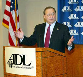 Abe Foxman of the Jewish ADL