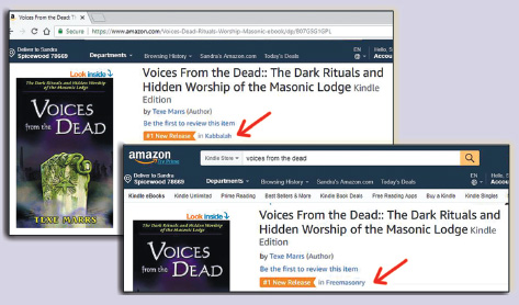 Voices From the Dead is Number 1 at Amazon.com