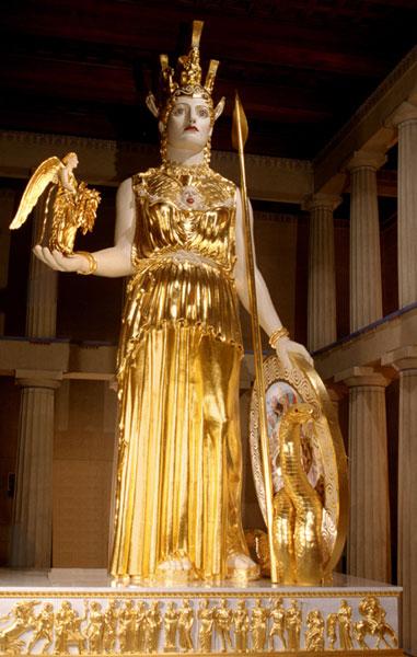 Athana Statue in Nashville