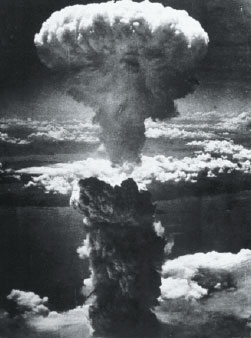Atomic blast over Nagasaki