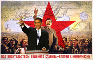 Red Star Over the  U.S.A.