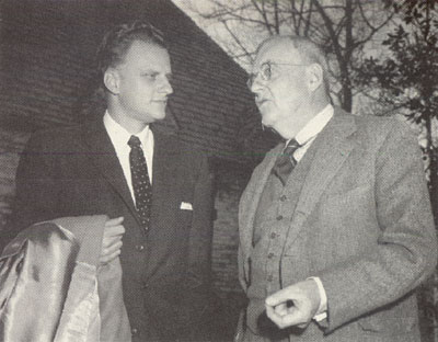 Billy Graham and John Foster Dulles