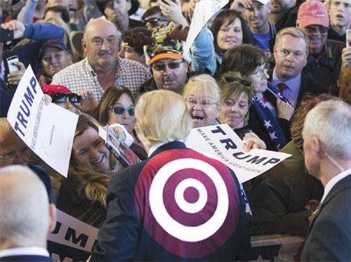 Trump Has a Bullseye Target on His Back
