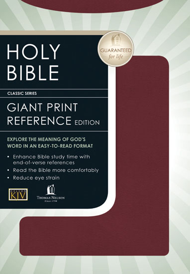 King James Bible - Burgundy