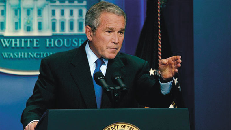 George W. Bush lied about WMDs in Iraq