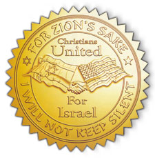 christians united for israel logo