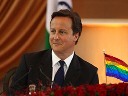 UK Prime Minister David Cameron is pro-Gay Marriage