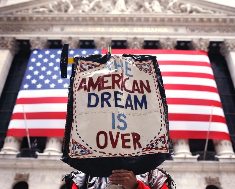 The Destruction of the American Dream