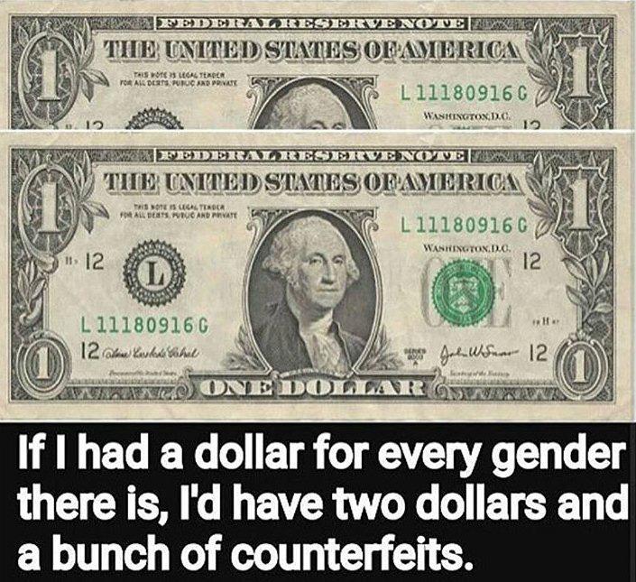 Dollar for Genders
