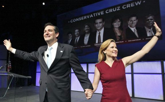 Heidi and Ted Cruz - First Couple of the North American Union