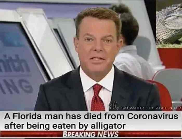 Florida man eaten by alligator died from covid