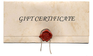 Gift Certificates Available from Power of Prophecy