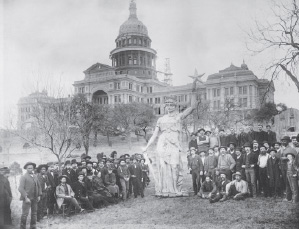 Goddess atop the Texas State Capitol