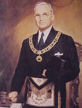 Harry Truman, 33rd degree Mason