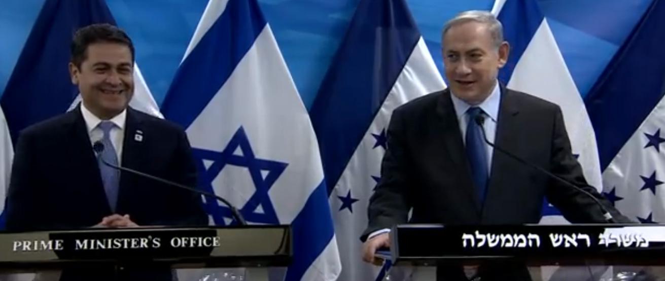 President Hernandez and Prime Minister Netanyahu