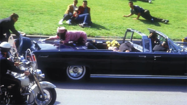 They assassinated John F. Kennedy
