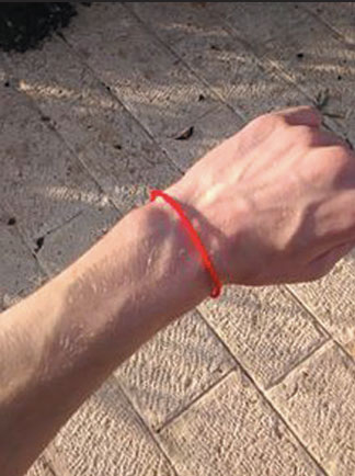 Red Wristband of Kabbalah