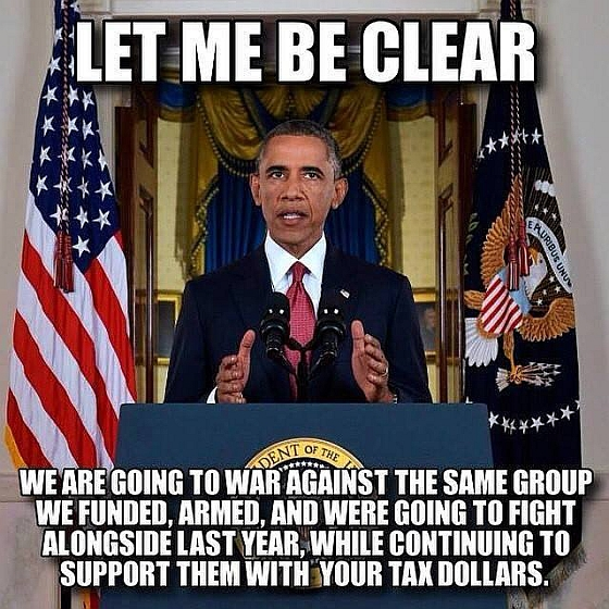 Obama says let me be clear