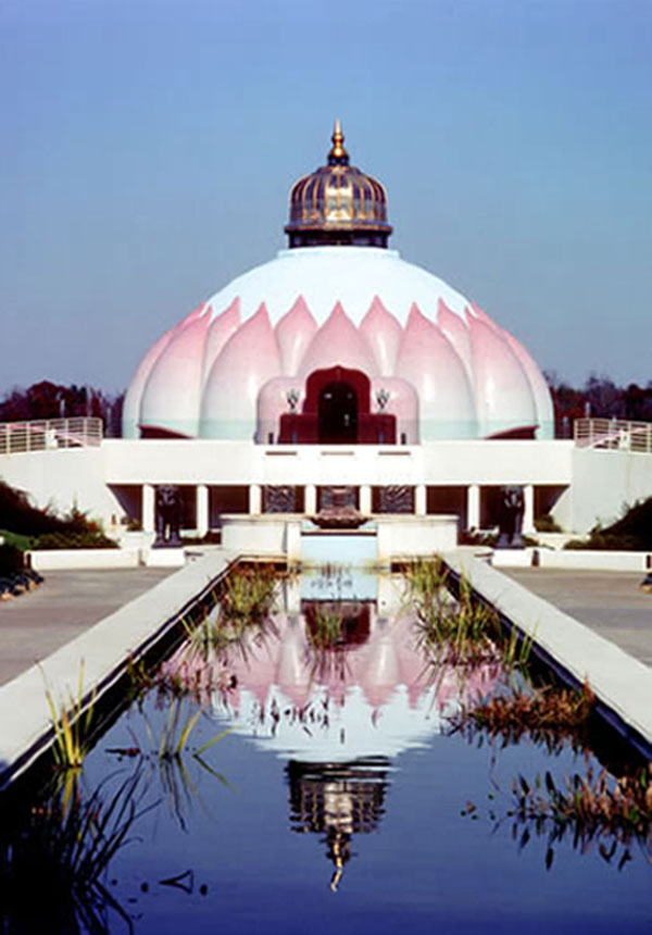 Light of Truth Universal Shrine in Yogaville, India