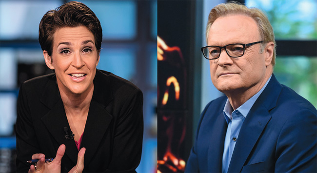 Rachel Maddow Lawrence O'Donnell