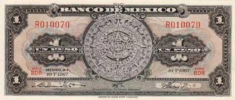 Mexican $1 Peso