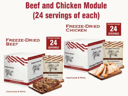 My Patriot Supply Beef/Chicken