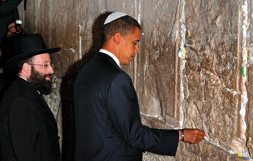 Devils at the Wailing Wall