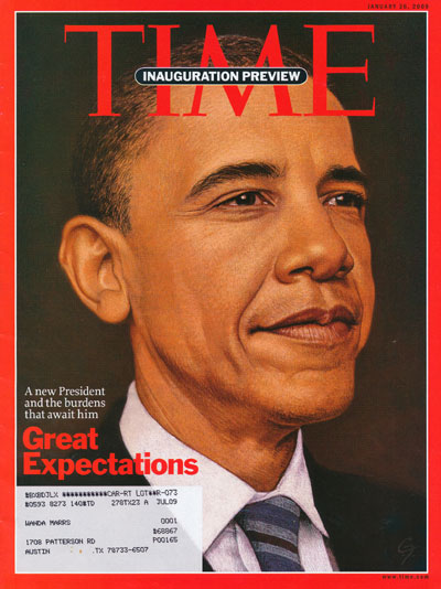 Barack Obama on Time Magazine Cover