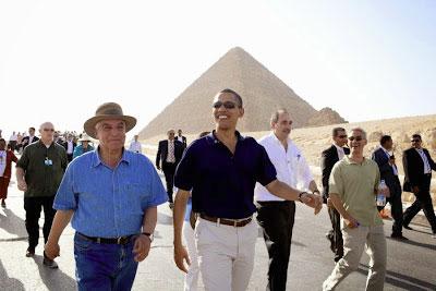 Obama and the pyramids