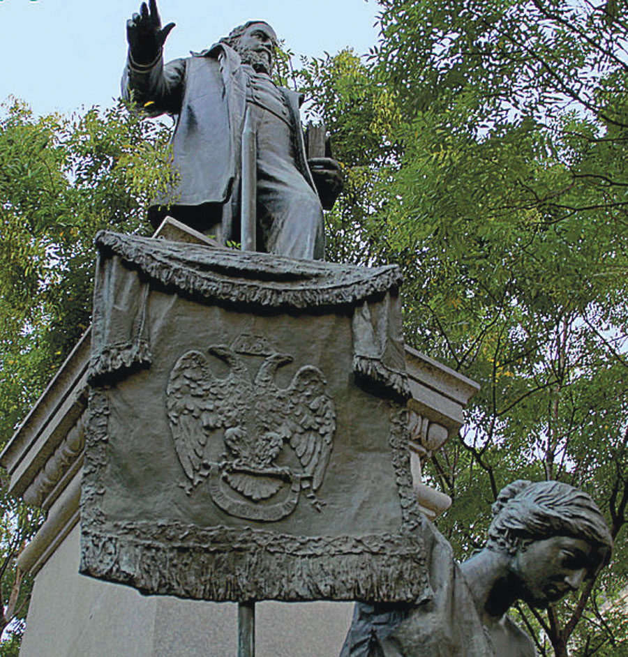 Statue of Albert Pike in Washington, D.C.