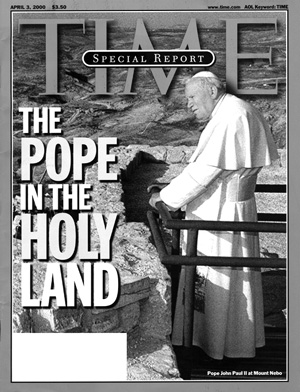 Pope on Time Magazine