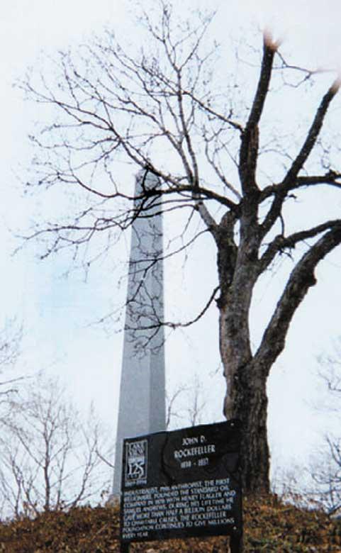 Rockefeller Graveside Obelisk