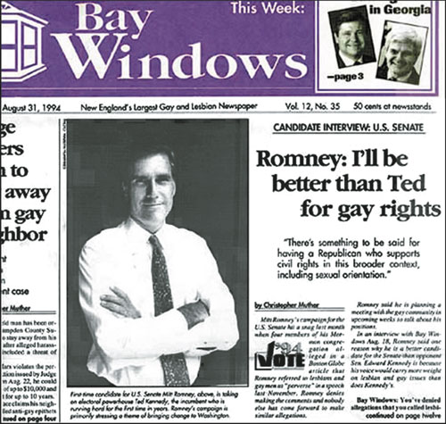 Romney on Gay Rights