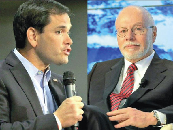 Marco Rubio and Paul Singer
