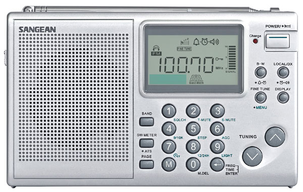 Ats Rotary Table Power of Prophecy: Sangean ATS-405 AM/FM/Shortwave Radio