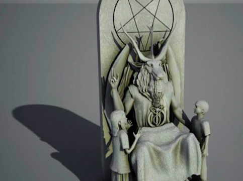 Proposed Satanic Statue for Capital of Oklahoma