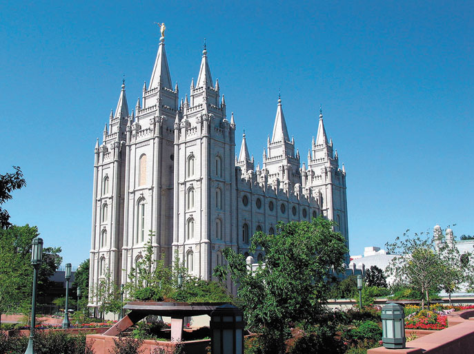 LDS Tabernacle in Salt Lake City, Utah