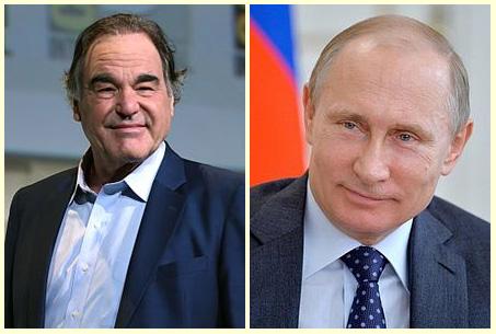 Oliver Stone and Vladimir Putin