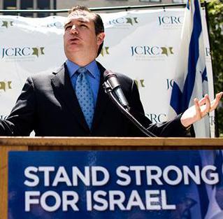 Zionist Puppet Ted Cruz