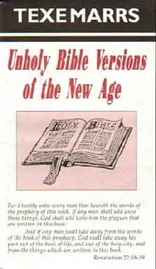 Unholy Bible Versions