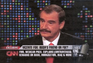 Vicente Fox on Larry King Live