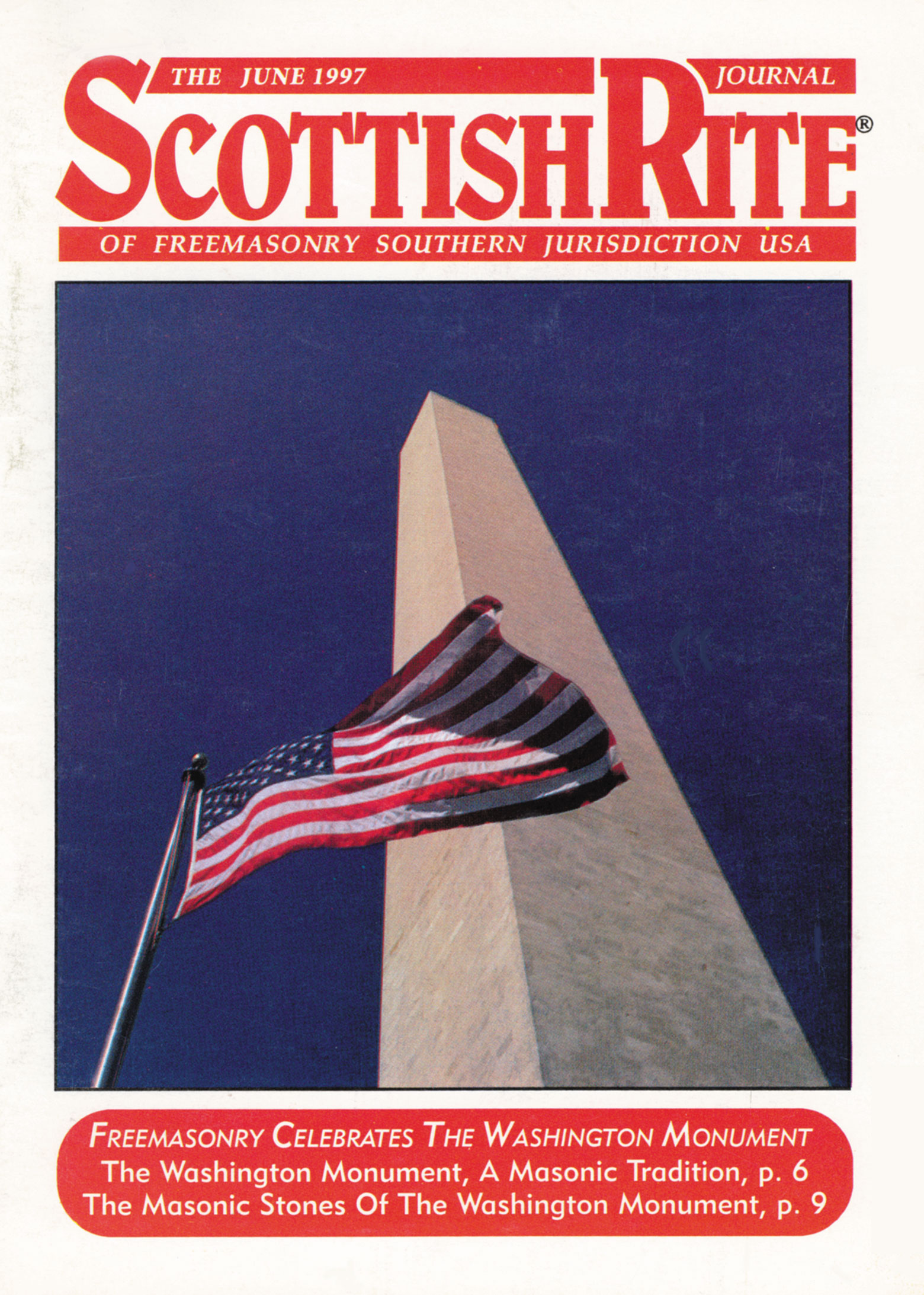 Scottish Rite Journal - Washington Monument