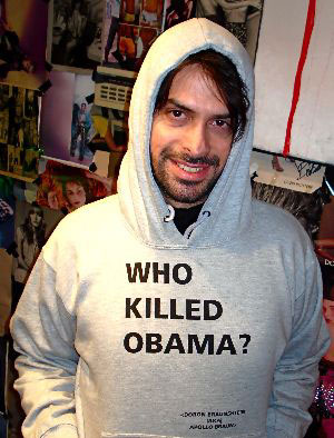 Who Killed Obama Hoodie