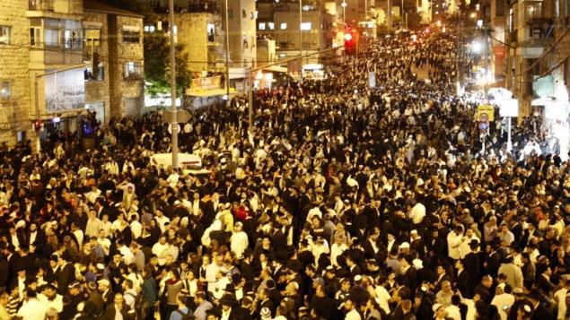 Israelis mourn the passing of Rabbi Yosef